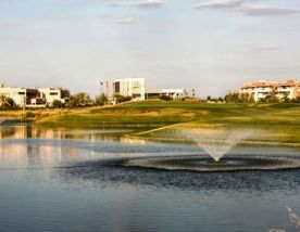 The The Montgomerie Marrakech's scenic golf course in vibrant Morocco.