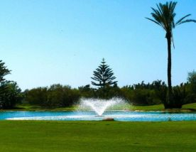 The Royal Golf Marrakech's picturesque golf course in dazzling Morocco.