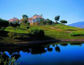 The La Cala Asia Golf Course's impressive golf course within astounding Costa Del Sol.