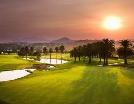 sunset on los naranjos golf club