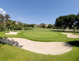 View Rio Real Golf Club's picturesque golf course within striking Costa Del Sol.