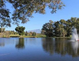 View El Paraiso Golf Club's lovely golf course within impressive Costa Del Sol.