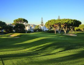 The Dom Pedro Pinhal Golf Course's beautiful golf course in striking Algarve.