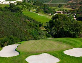 The Santo Antonio Golf Resort's lovely golf course in pleasing Algarve.
