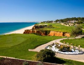 The Vale do Lobo Royal Golf Course's scenic golf course situated in gorgeous Algarve.