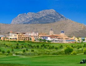 View Villaitana Levante Golf Course's lovely golf course in astounding Costa Blanca.