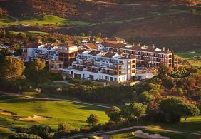 ariel view of the la cala golf resort and spa hotel