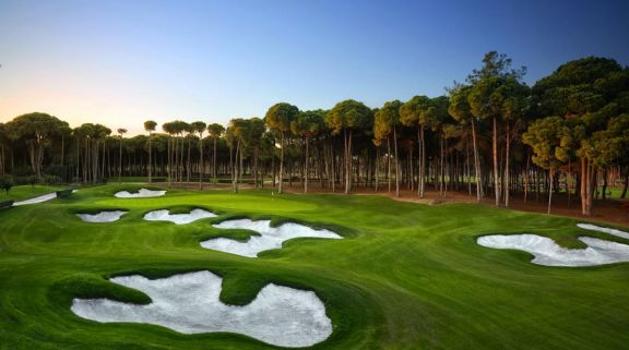 All The Carya Golf Club's lovely golf course situated in staggering Belek.