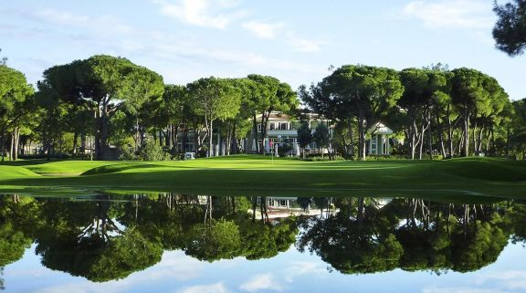 View Robinson Nobilis Golf Club's beautiful golf course within dramatic Belek.