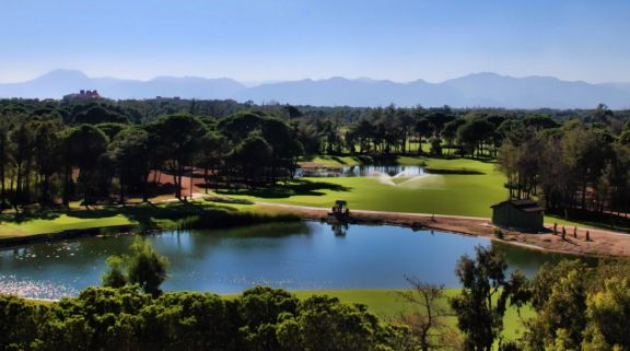 View Kaya Palazzo Golf Club's picturesque golf course within dazzling Belek.
