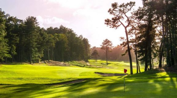 The Golf d Hardelot Les Pins  Les Dunes Courses's lovely golf course within brilliant Northern Franc