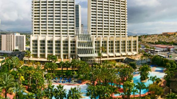 The Melia Benidorm Hotel's beautiful hotel situated in marvelous Costa Blanca.