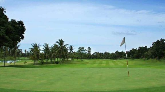 The Eastern Star Country Club's scenic golf course in sensational Pattaya.