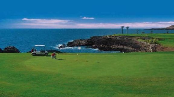 The Amarilla Golf and Country Club's beautiful golf course situated in faultless Tenerife.