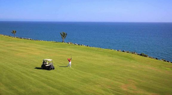 The Meloneras Golf Course's scenic golf course within magnificent Gran Canaria.