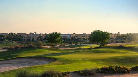 The Arabian Ranches Golf Club's scenic golf course in sensational Dubai.