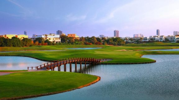The Montgomerie Golf Club includes lots of the most desirable golf course within Dubai