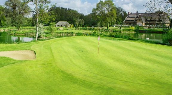 Golf du Vaudreuil boasts several of the most popular golf course near Normandy