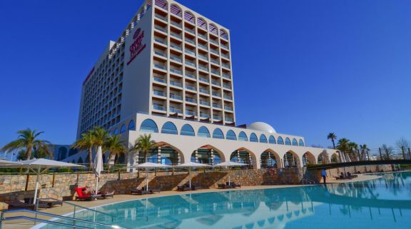 The Crowne Plaza Hotel's lovely main pool in incredible Algarve.