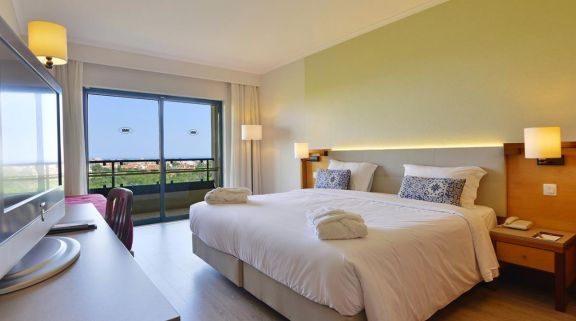 The Real Bellavista Hotel  Spa's scenic double bedroom in sensational Algarve.