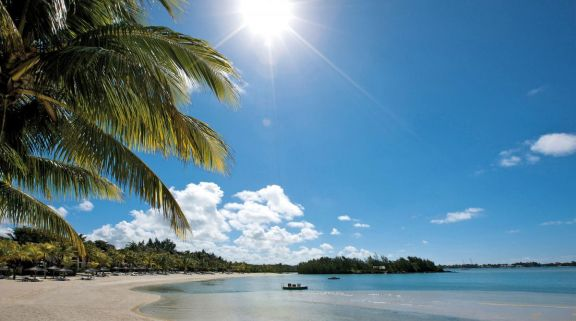 Shangri La Le Touessrok Resort  Spa's impressive beach situated in breathtaking Mauritius.