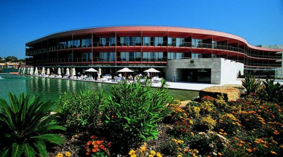 View Vila Sol Golf Resort Hotel's lovely outdoor seating within magnificent Algarve.