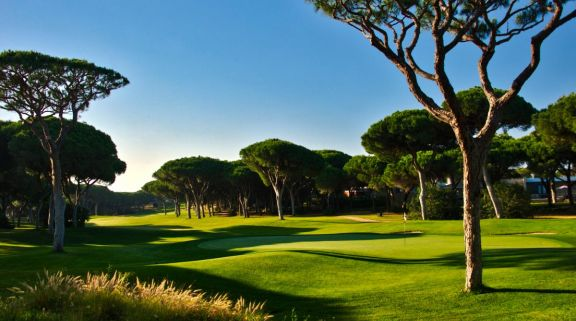 View Dom Pedro Millennium Golf Course's beautiful golf course within gorgeous Algarve.