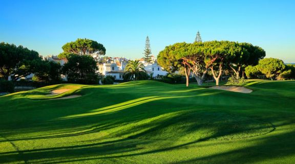 The Dom Pedro Pinhal Golf Course's beautiful golf course in magnificent Algarve.
