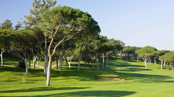 The Dom Pedro Vilamoura Old Golf Course's picturesque 11th hole in incredible Algarve.