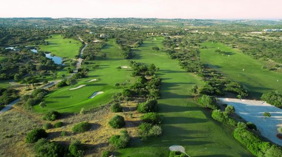 The Espiche Golf Course's beautiful golf course within amazing Algarve.