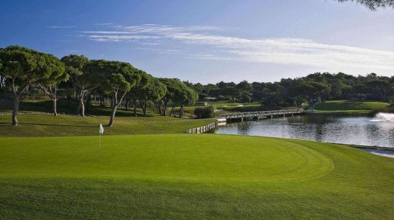 The Quinta do Lago South's impressive golf course situated in amazing Algarve.
