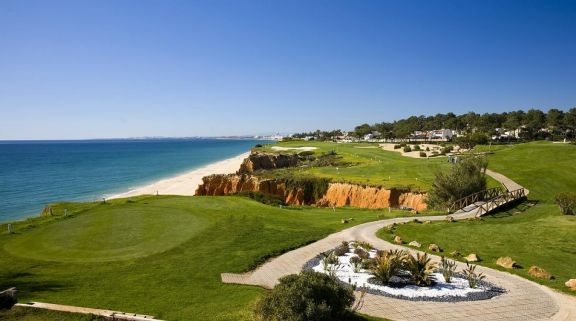 The Vale do Lobo Royal Golf Course's beautiful golf course in magnificent Algarve.