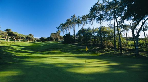 The Estoril Palacio Golf Course's impressive golf course situated in amazing Lisbon.