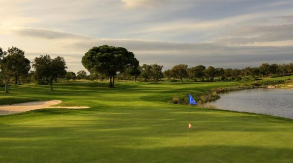 The Riba Golfe 1 's impressive golf course within pleasing Lisbon.