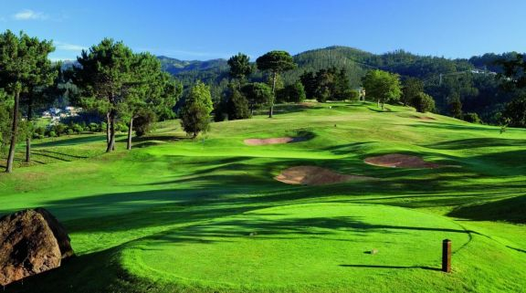 The Palheiro Golf's impressive golf course situated in magnificent Madeira.