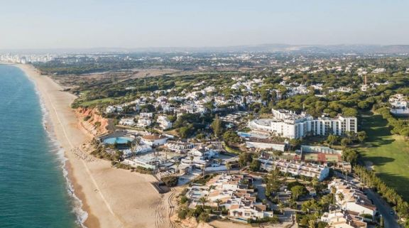 The Vale Do Lobo Resort's beautiful ariel view situated in spectacular Vale do Lobo.