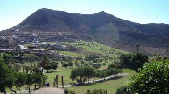 La Envia Golf's lovely golf course situated in vibrant Costa Almeria.
