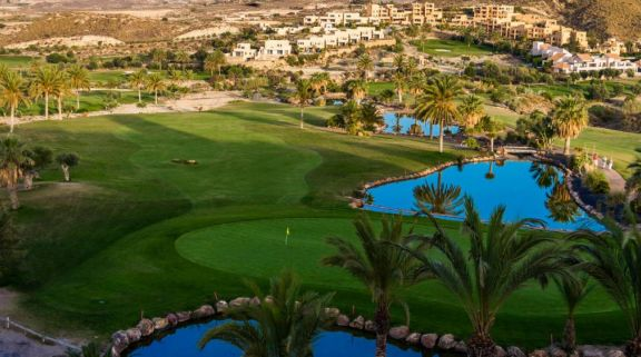 The Valle del Este Golf Course's beautiful golf course within impressive Costa Almeria.