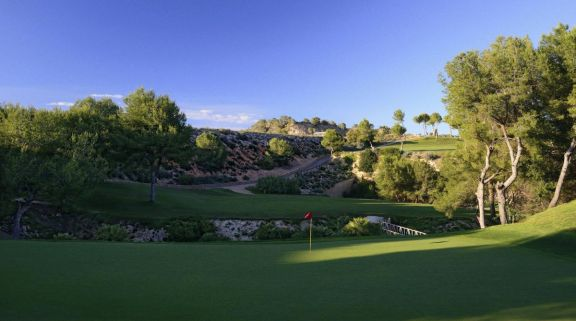 View Las Ramblas Golf Course's picturesque golf course within dazzling Costa Blanca.