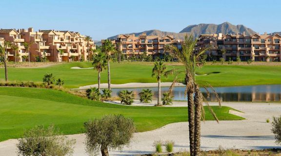 The Mar Menor Golf Course's picturesque golf course in dazzling Costa Blanca.