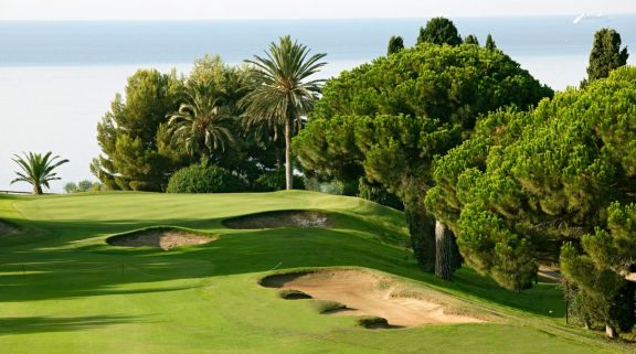 Llavaneras Golf Club's lovely golf course within impressive Costa Brava.