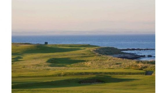 The Crail Golfing Society's scenic golf course situated in gorgeous Scotland.