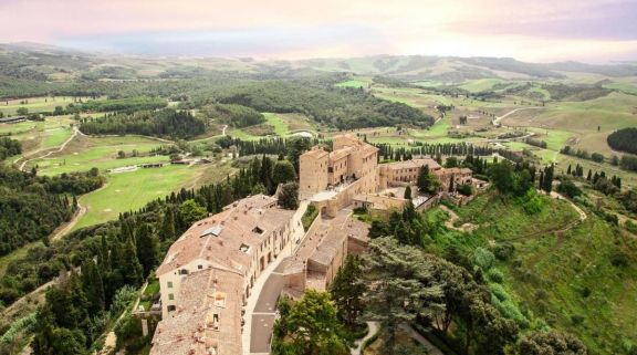 View Toscana Resort Castelfalfi's impressive landscape situated in incredible Tuscany.