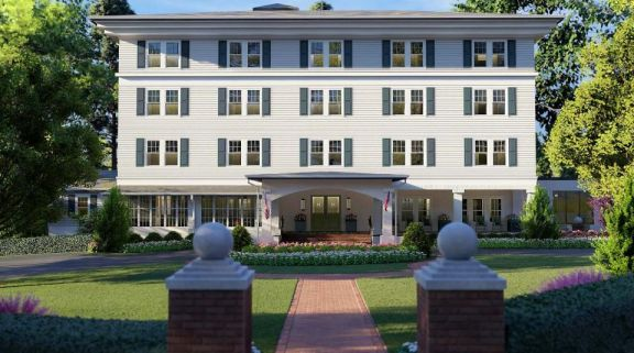 The Manor Inn at Pinehurst Resort's lovely hotel in pleasing North Carolina.