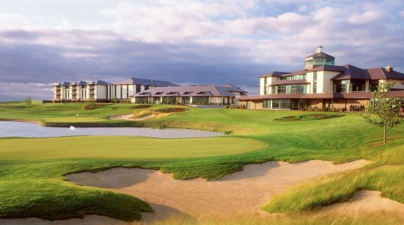 The Heritage Golf Resort's lovely golf course within impressive Southern Ireland.