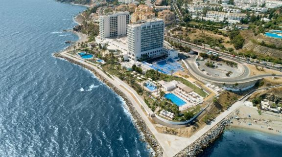 The Hotel Estival Torrequebrada's impressive hotel situated in vibrant Costa Del Sol.