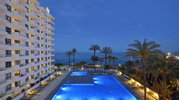 The Sol House Aloha Hotel's beautiful sea view pool situated in sensational Costa Del Sol.