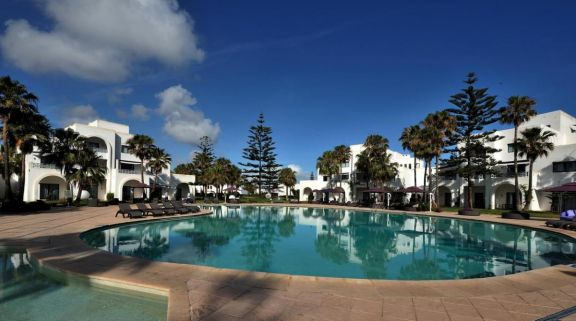 The Pullman Mazagan Royal Golf  Spa's lovely outdoor pool in incredible Morocco.