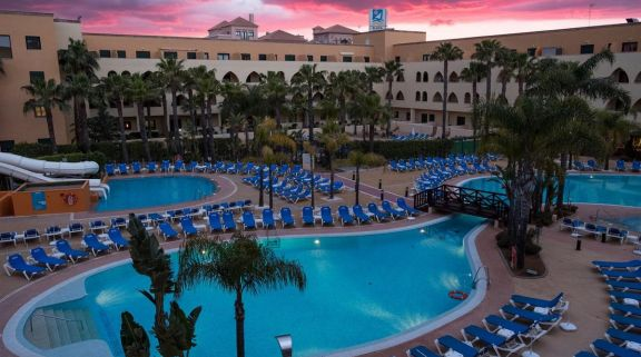 View Playa Marina Spa Hotel's impressive pool situated in dazzling Costa de la Luz.
