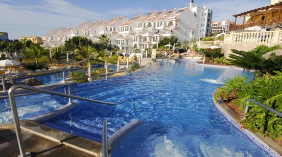 The Paradise Park Hotel's beautiful main pool within fantastic Tenerife.
